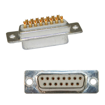 D-SUB FEMALE Solder type Machine Pin