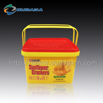 IML wholesale customized colorful printing cracker box
