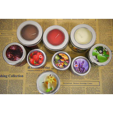 Various Scented Candle in Metal Tin