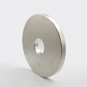 super large disc  countersunk hole NdFeB magnet