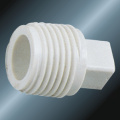Din Pn10 Water Supply Upvc Male Plug White