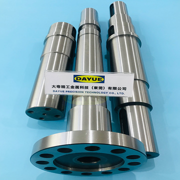 Precision motor shaft machining s45c hardened steel shaft