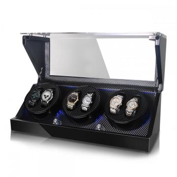 Triple Rotors Watch Winder Storage 6 Watches
