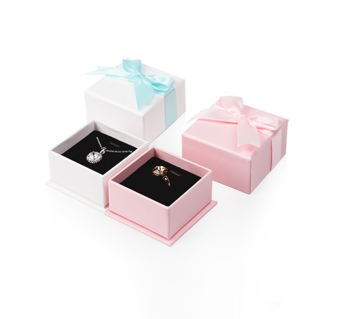 Custom cardboard jewelry paper packaging box