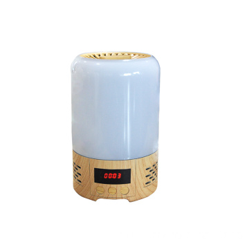 Home Air Purifier with RGB night light time
