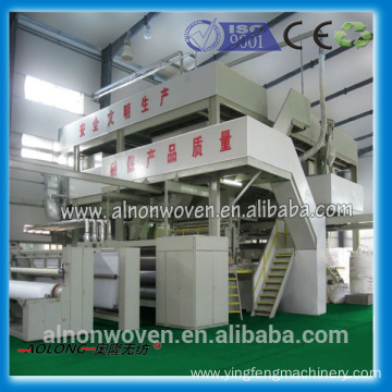 Double Beam PP Spunbond nonwoven Proudction machine