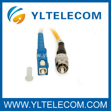 SC / FC Optical Patch Cord 9/125um Low insertion loss High Return Loss CATV Network