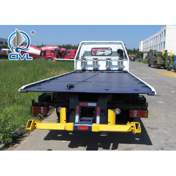 HOWO 4x2 5 tons flatbed wrecker towing truck