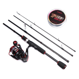 TIDEEP PORTABLE TRAVEL ROD COMBO