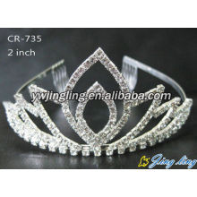 Small Crown Silver Wedding Crowns And Tiaras
