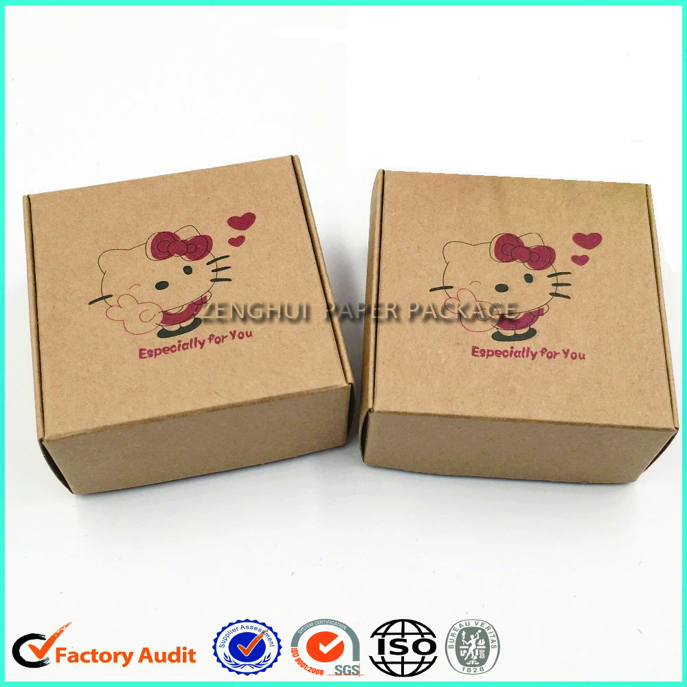 Kraft Paper Packaging Box For Soap