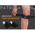 Special knee damping support belt for running