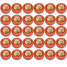 30pcs/lot Relief Headache Essential Oil Mosquito Pest Itchy Massage To Relieve Headaches Red Tiger Balm Head Menthol Refreshing