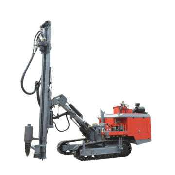 73.5KW Engine Separated Open-air Quarry DTH Drilling Rig