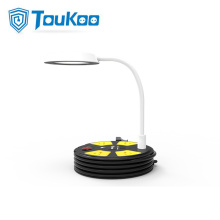 LED Lamp Extension Cord 4 Gang USB Ports