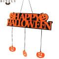Halloween party Decoration HAPPY HALLOWEEN Hanging Hangtag Window door Decoration Doorplate Halloween Pumpkin Hanging Strips