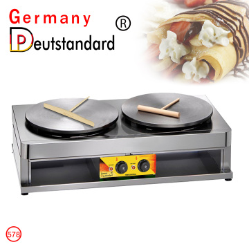 commercial crepe maker electric crepe machine with CE