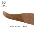 Shoe Components Wedges Cork Shoe Sole