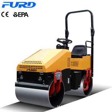 Truly 1ton Full Hydraulic Mini Compactor Vibratory Road Roller