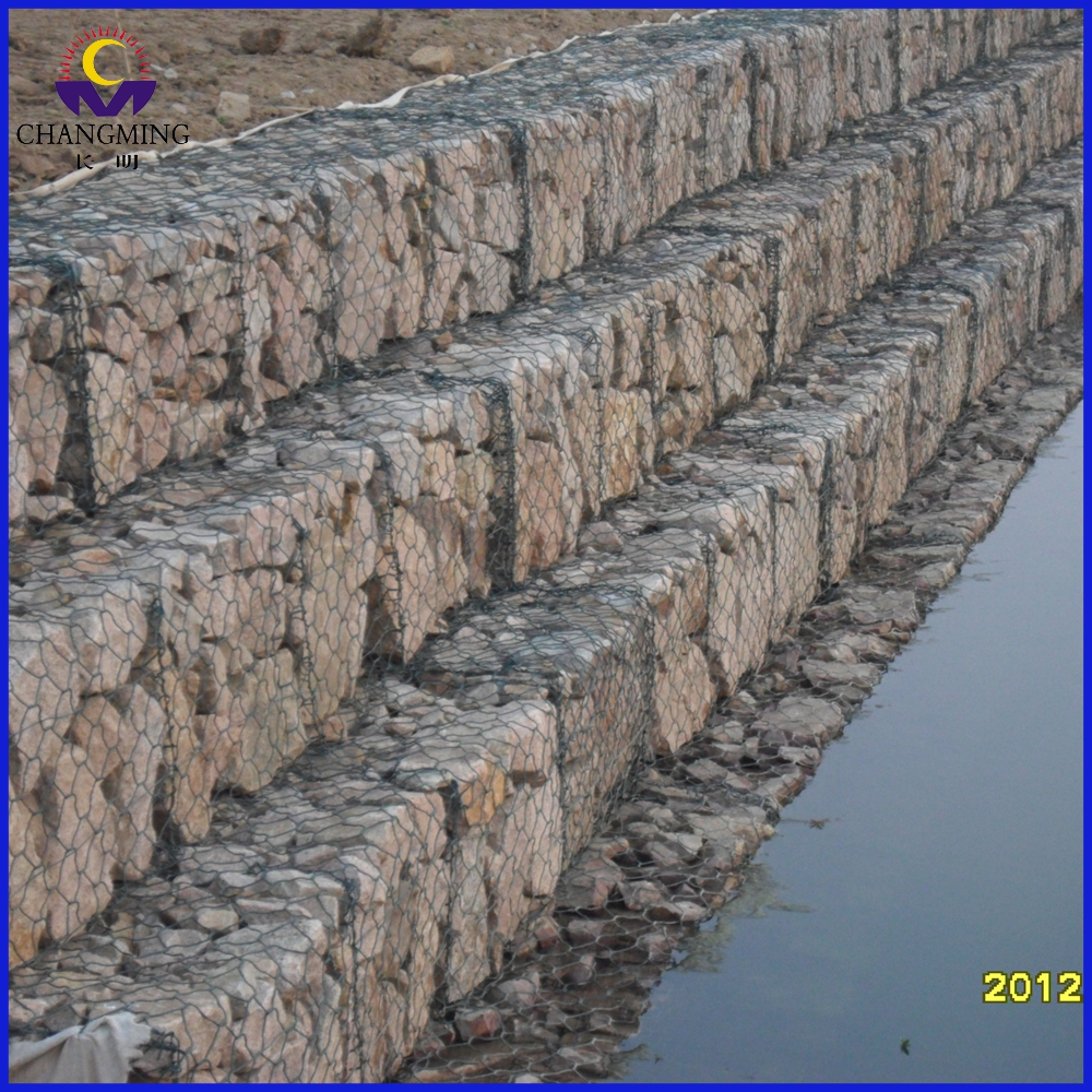 Hexagonal Gabion Box Wire Netting