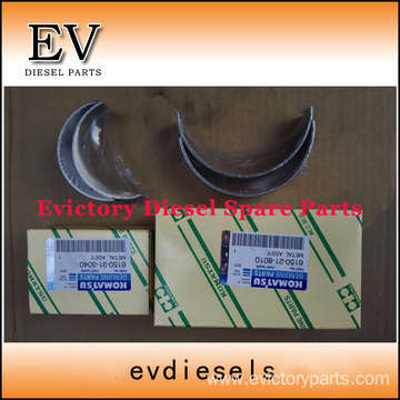 excavator 6D125 engine gasket bearing piston ring liner