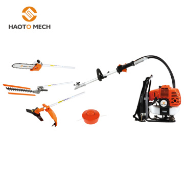 multi function machine backpack brush cutter