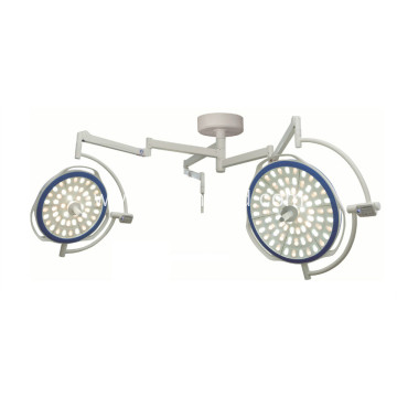 Main and satellite LED surgical operating lamp