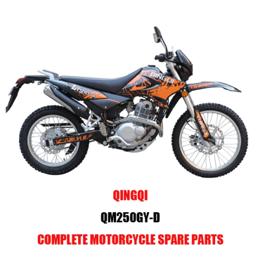 QINGQI QM250GY-D DA Engine Parts Motorcycle Body Kits Original  Spare Parts