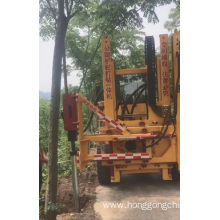 Multifunctional Hydraulic Guardrail piling machine