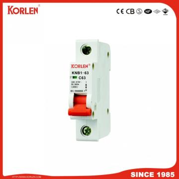 new type KNB1-63 Mini circuit breaker 1-63A MCB