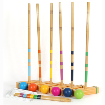 GIBBON Sports Tournament Series Croquet Set