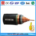 0.6KV/1KV Construction Application Copper Conductor Multi Core XLPE Cable