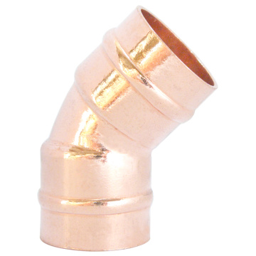 45° Solder Ring Copper Elbow