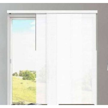 Motorized Window Vertical Panel Shades Track