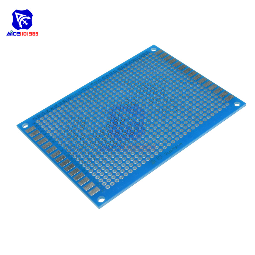 diymore 5PCS/Lot Universal PCB Board 70x90 mm 2.54mm Hole Pitch Prototype Paper Printed Circuit Panel 7x9 cm Single Sided Board