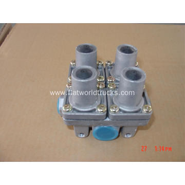 Four cicuir protection valve