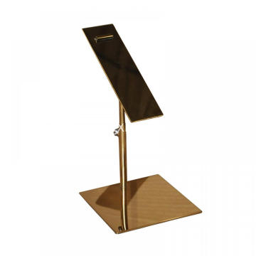 High Quality Stainless Steel Adjustable Shoes Display Stand Holder