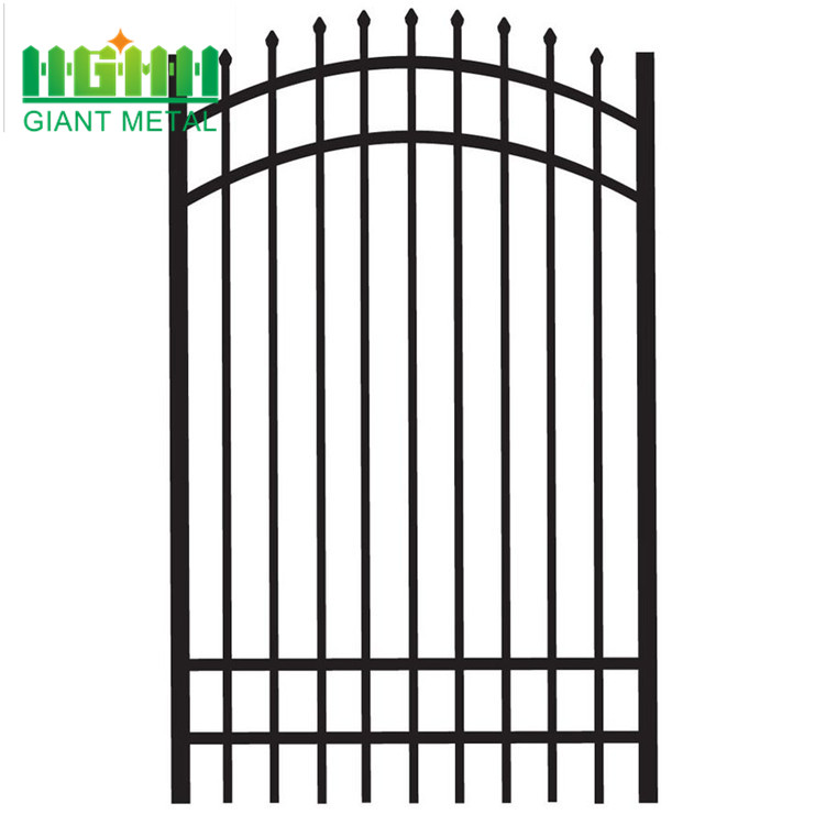 metal road barrier decorative garden wrought iron fence