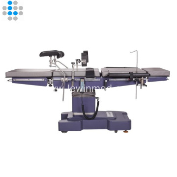 Electro hydraulic operating table examination tables