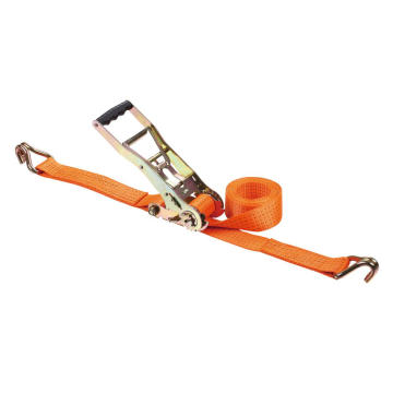 50mm Cargo Lashing Belt with Double J Hook