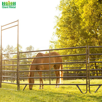 Galvanized Heavy Duty Used Livestock Horse Rail Fence