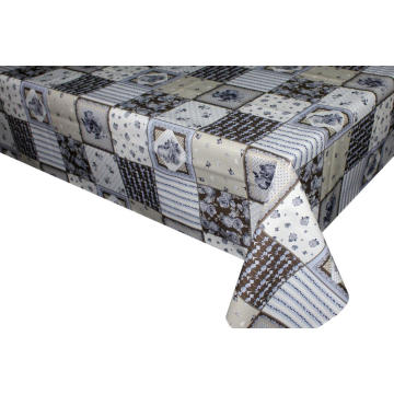 Elegant Tablecloth with Non woven backing Nashville