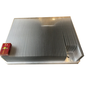 600 mm Skiving Fin heatsink Skived Aluminium Plack