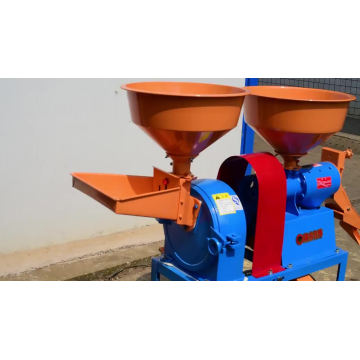 Electric Motor Crush Millet Machinery