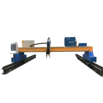 Professional cnc Gantry plasma cutting machine for stainless steel iron metal sheet