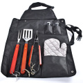 3PCS BBQ Tool Set with Gloves