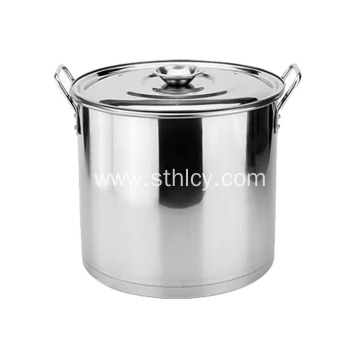410 Gas Cooker Stainless Steel Soup Pails
