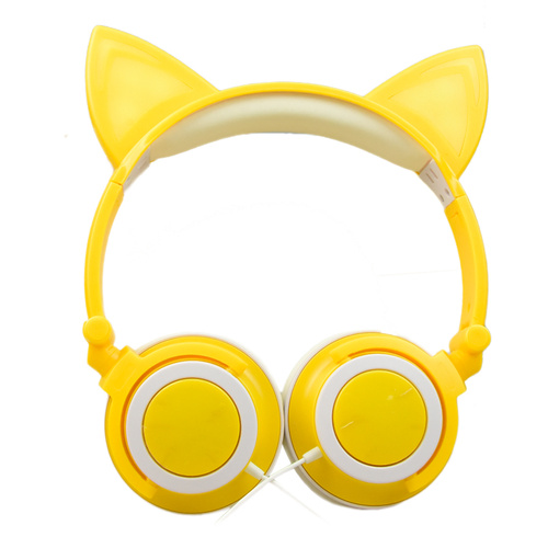 Original factory Led Cat Ear Funny Headsets