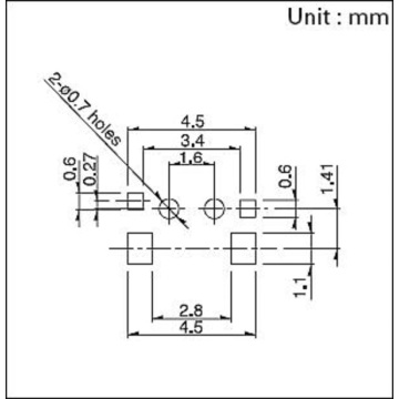 Miniature Two-way Action Detection Switch