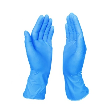 NITRILE PROTECTION GLOVES FOR MEDICAL OR FOOD